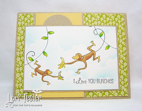 I Love You Bunches-designed by Lori Tecler-Inking Aloud-stamps from The Cat's Pajamas
