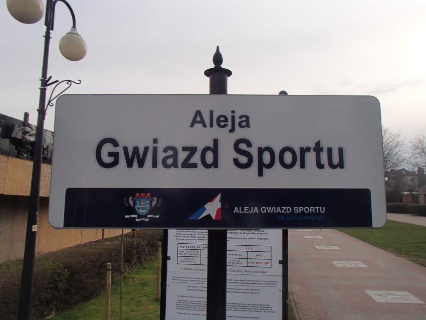 Aleja Gwiazd Sportu we Władysławowie - fot. Tomasz Janus / sportnaukowo.pl