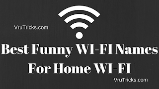 Best Funny WI-FI Names For Home WI-FI