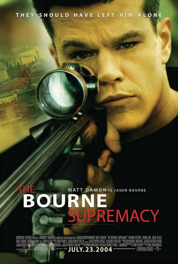 فیلم دوبله: برتری بورن (2004) The Bourne Supremacy