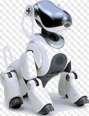 AIBO adalah robot buatan sony yang menerapkan teknologi AI