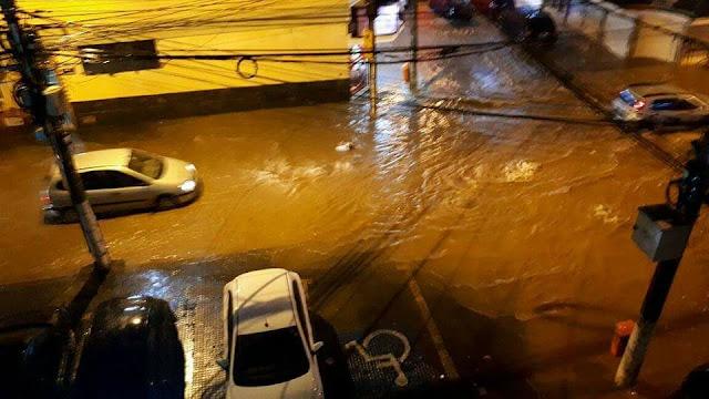 Devido à chuva Nova Friburgo tem operação de linhas de ônibus suspensas