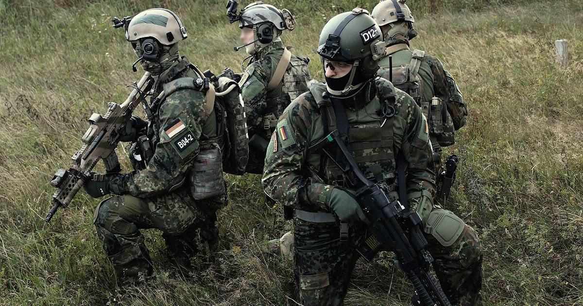 Worldwide Soldiers: KSK - Kommando Spezialkräfte German