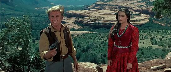 Resultado de imagen de La ley del talión (1956). The Last Wagon.