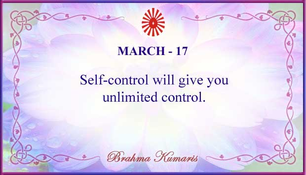 Thought For The Day March 17