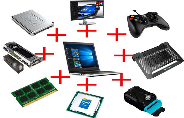 upgrades que se pode fazer em notebook