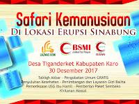 Laznas BSM, BSMI Jakarta Raya dan BSMI Sumut Safari Kemanusiaan ke Karo