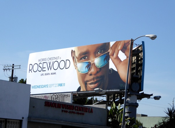 Morris Chestnut Rosewood series billboard