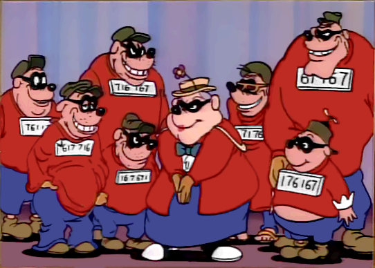 Gerombolan Siberat. The Beagle Boys.