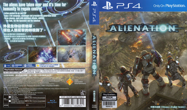 Capa Alienation PS4
