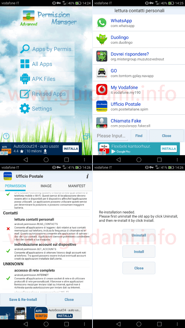 App Android Advanced Permission Manager