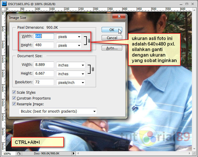 Cara Menyamakan Ukuran Gambar Di Photoshop Berbagai Ukuran