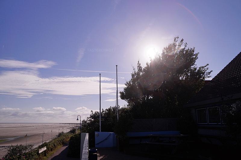 Amrum #1: Anreise mit der Fähre, Radtour Deich Wittdün, Abend am Strand