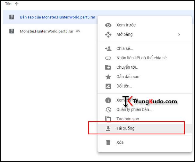 Cách tải File từ Google Drive khi bị giới hạn lượt tải