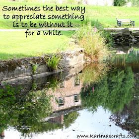 Inspirational poster lake reflection