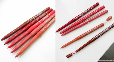 L'Oréal Paris Makeup Designer Infallible Le Rouge, Lip Liner Review and Demo