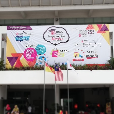 Management And Science University MSU Homecoming Fiesta 2018 - Did you know about MSU Homecoming? Mummy just knows and luckily, I have been visiting MSU Homecoming Fiesta 2018 !