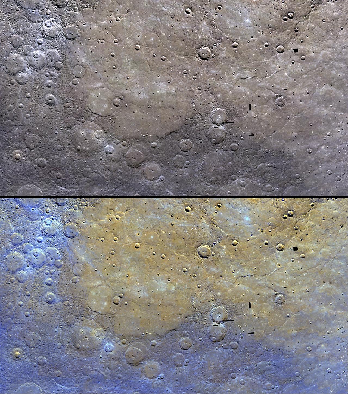 Suburban spaceman: NASA Messenger: Mercury's Surface ...