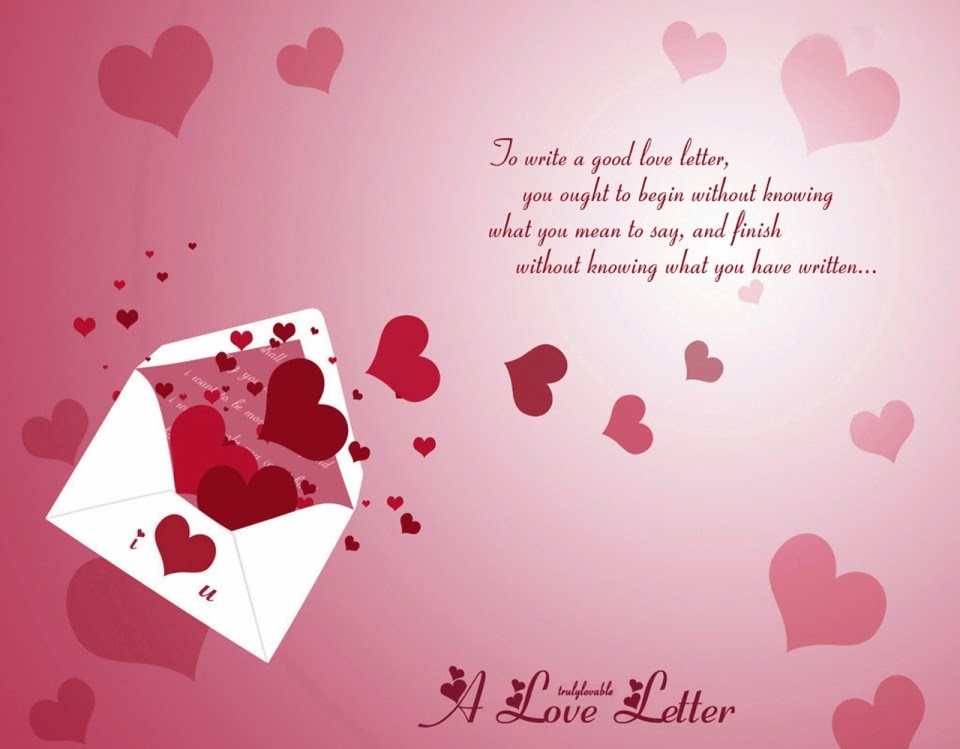 Write a Good Love Letter   Short Love Quotes   Inspirational