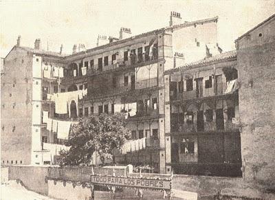 Historia de las corralas Madrid - Corrala de Mesón de Paredes