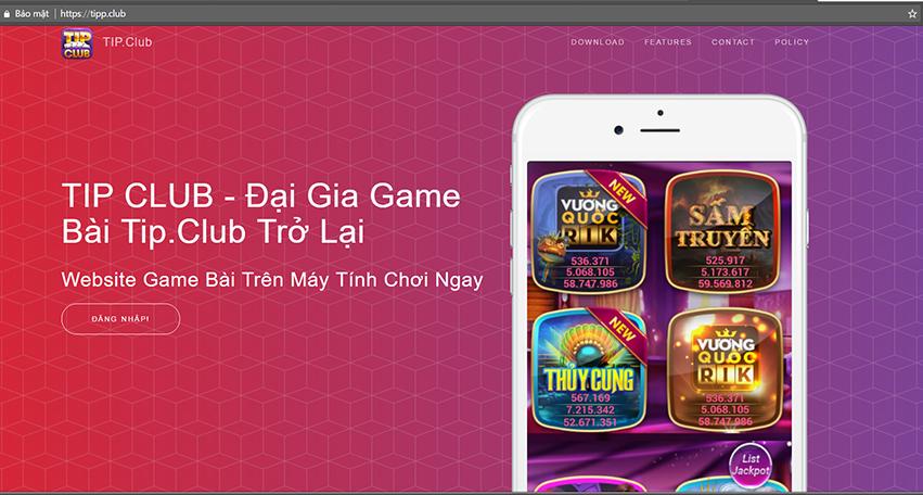 tipp.club cổng game bài trên website mới nhất