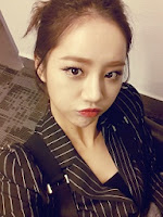 Girl's Day Hyeri's instagram account