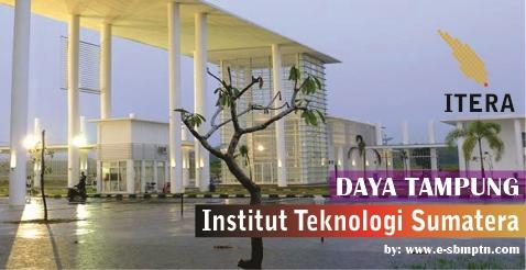 yaitu sebuah perguruan tinggi tinggi negeri yg  berkedudukan di Provinsi Lampung DAYA TAMPUNG ITERA 2019/2018