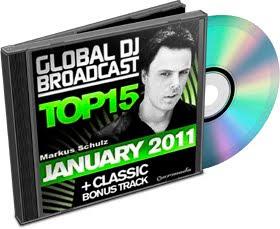 Global DJ Broadcast Top 15 2011