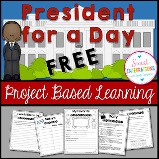 Would you like to be president for a day? In this FREE mini-unit, elementary and middle school students can follow the schedule of the president, learn about the president's cabinet, and more. Writing is included.