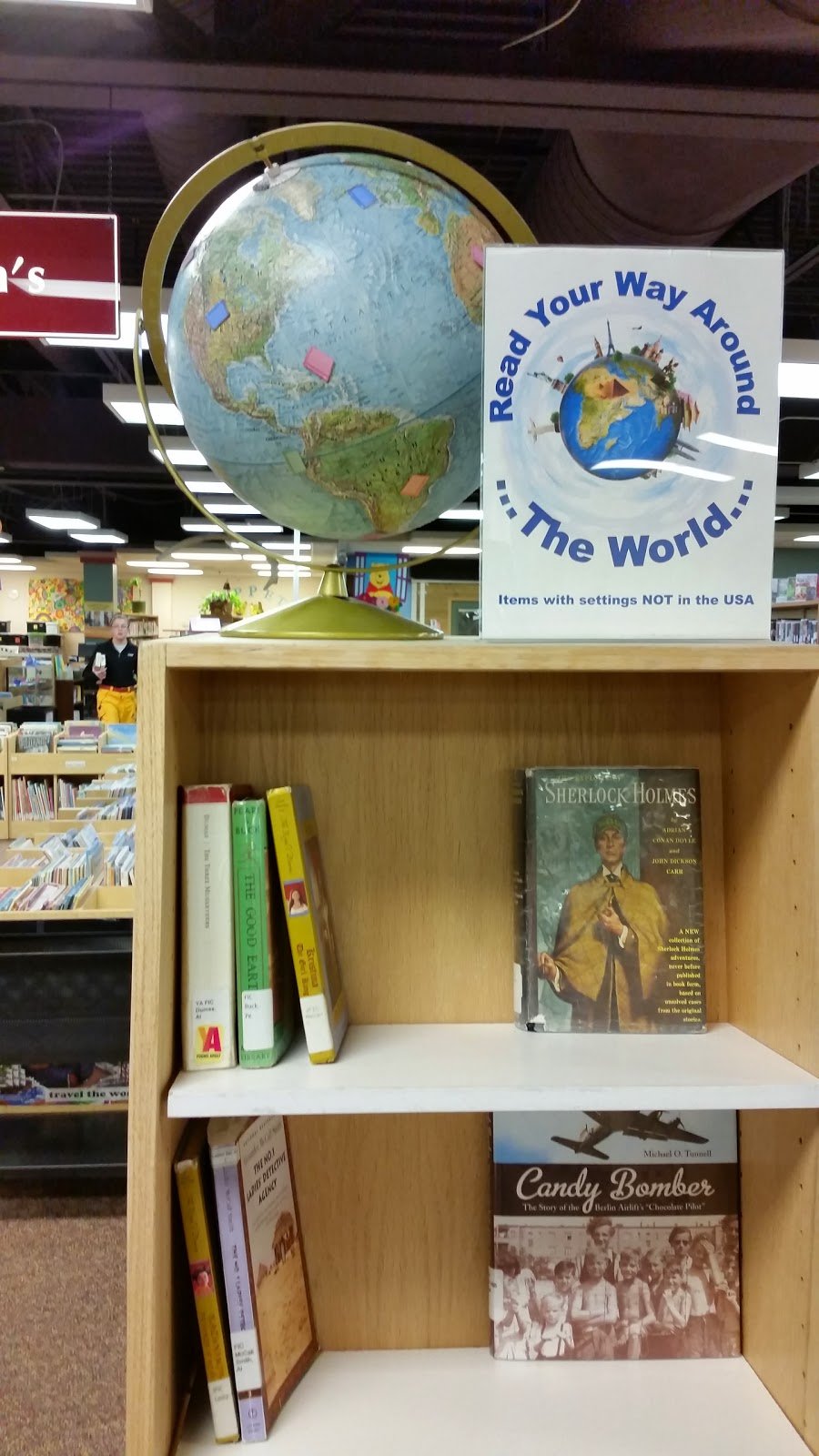Display Lit: Read Your Way Around The World