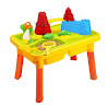 Sandbox Castle 2-in-1 Sand and Water Table with Beach Play Set for Kids