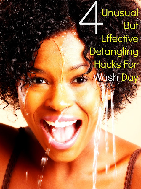 4 Unusual But Effective Detangling Hacks For Wash Day