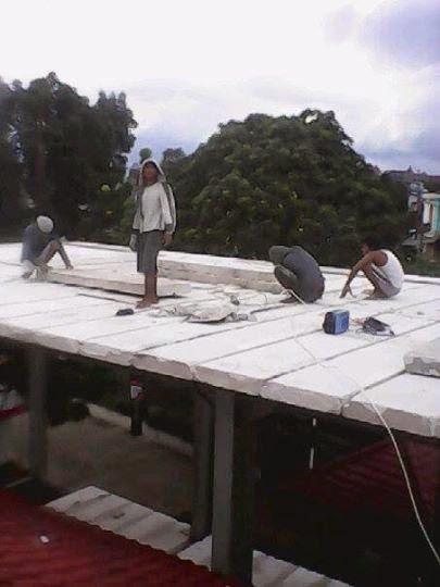 "Pemasangan Panel Lantai AAC "" Grand Elephant"" lokasi Jl. Simpang Wilis - Malang"