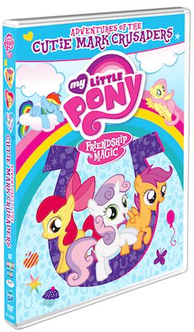DVD Review - MY LITTLE PONY: FRIENDSHIP IS MAGIC: ADVENTURES OF THE CUTIE MARK CRUSADERS