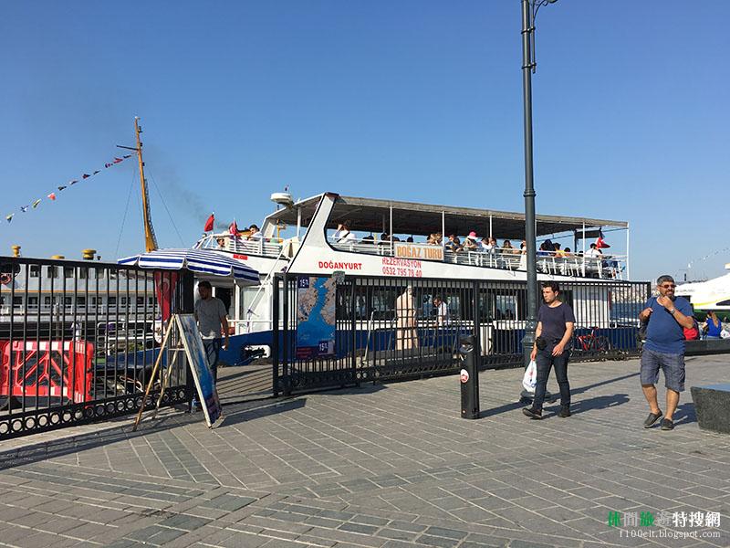探訪土耳其秘境30天之旅第5天:伊斯坦堡老城區觀光 金角灣游船與王子群島倉促到訪