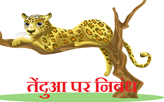 Essay on Leopard in Hindi