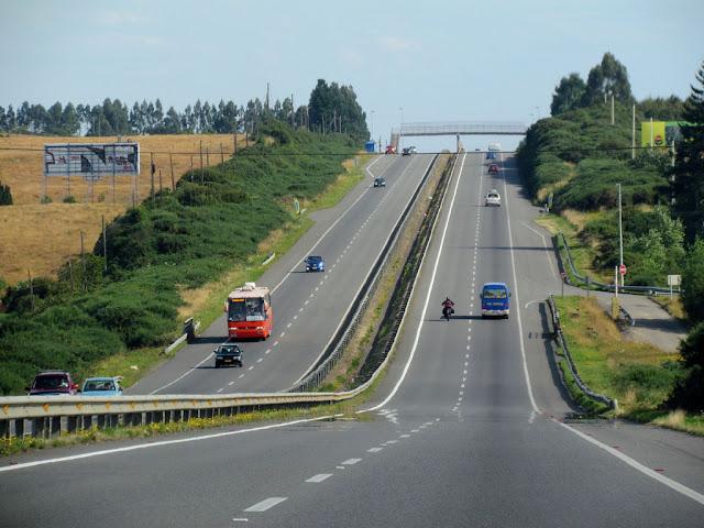 Ruta 5 Sur no Chile
