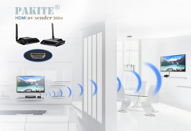 HDMI-Signale drahtlos übertragen