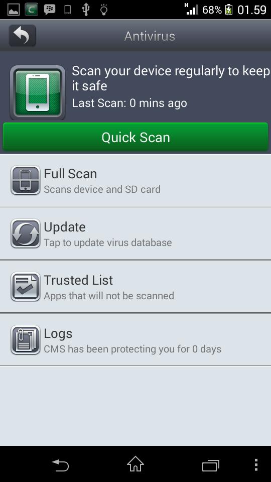 Comodo Mobile Security Apk Terbaru
