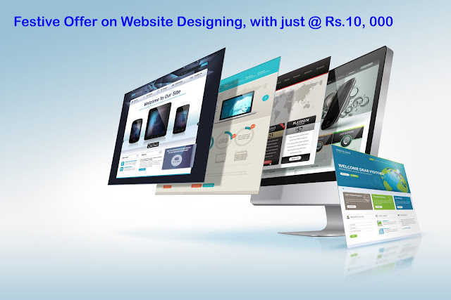 Website designing offer on Diwali 2015, Get your website only 10000Rs on Diwali offer