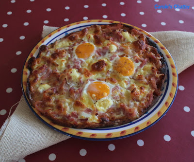 Carole's Chatter: Bacon & Egg Pizza