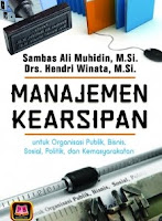 Judul Buku : MANAJEMEN KEARSIPAN untuk Organisasi Publik, Bisnis, Sosial, Politik, dan Kemasyarakatan