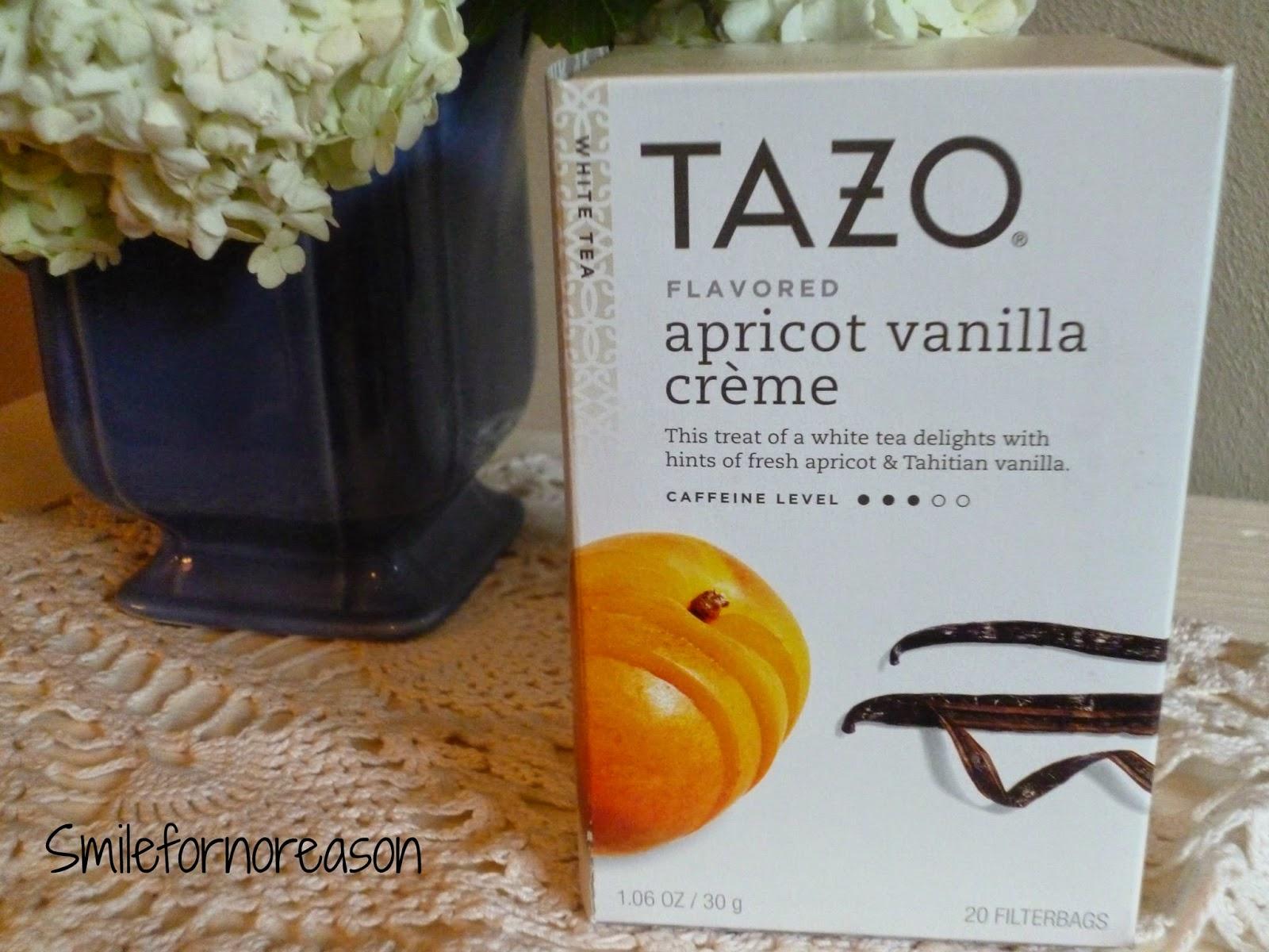 Tazo apricot tea
