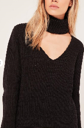 https://www.missguided.co.uk/black-choker-side-split-oversized-jumper