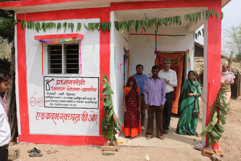 प्रधानमंत्री आवास के माध्यम से पहुंच रहा आमजन तक सामाजिक सरोकार का संदेश