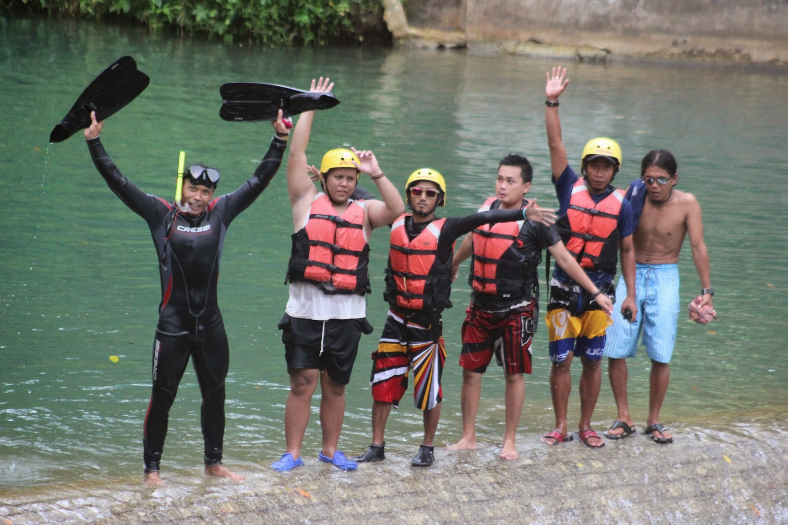 citumang body rafting