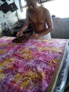 stampted batik