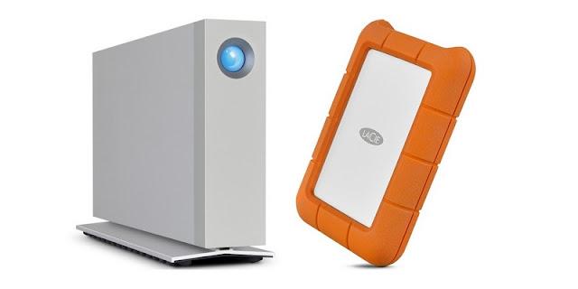 LaCie giới thiệu 2 mẫu ổ cứng cao cấp Rugged Thunderbolt USB-C và d2 Thunderbolt 3
