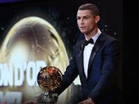 Ronaldo Sabet Gelar Ballon d'Or 2017, Messi di Urutan Kedua