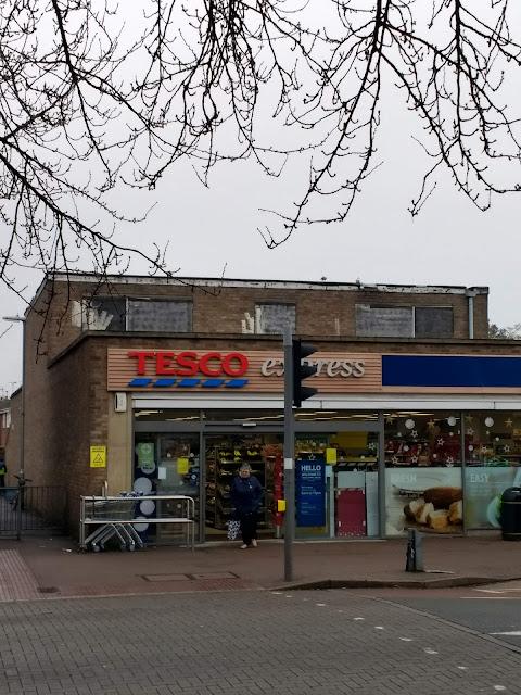 Tesco, Cherry Hinton, Express, Rectory Terrace, Cambridge, Psychogeography